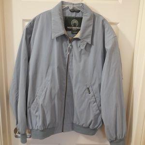 Weatherproof Microfiber Jacket Light Blue